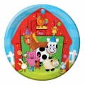 Barnyard Bash Farm Party Dessert Plates (8)